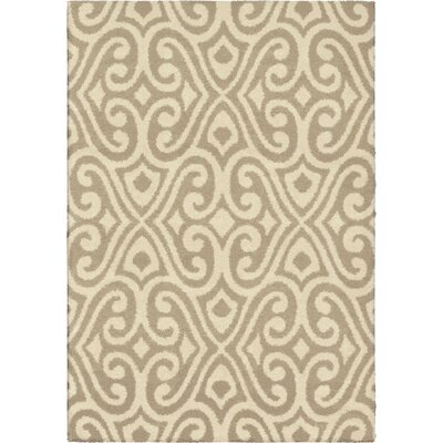 Andersen Tan/Ivory Area Rug Rug Size: 710 x 1010
