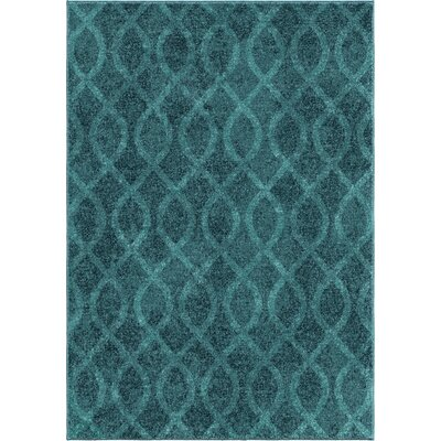 Angarano Blue Area Rug Rug Size: 710 x 1010