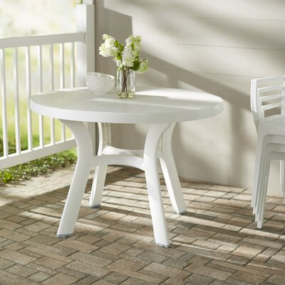 Snake River Round Dining Table Finish: White