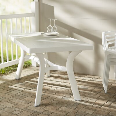 Snake River 55 Dining Table Finish: White, Table Size: 55