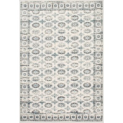 Revival Cream Area Rug Rug Size: Rectangle 53 x 8