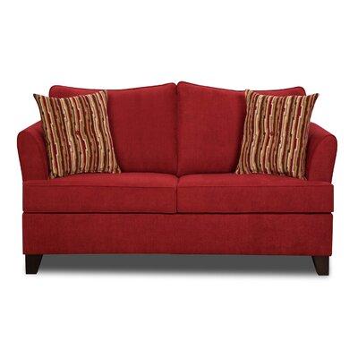 Simmons Upholstery Antin Loveseat Sleeper Sofa Upholstery: Algerian