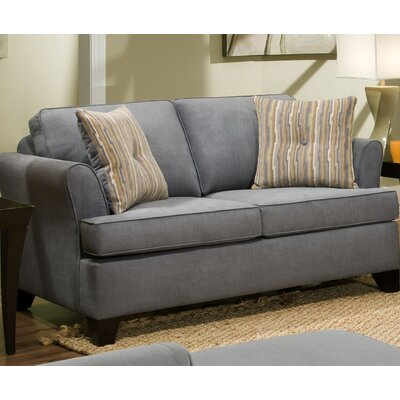Simmons Upholstery Antin Loveseat Sleeper Sofa Upholstery: Lava