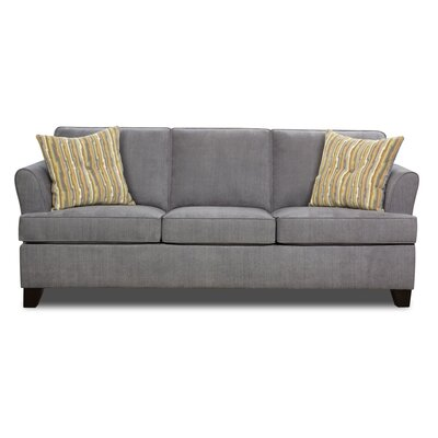 Simmons Upholstery Antin Queen Sleeper Sofa Upholstery: Lava