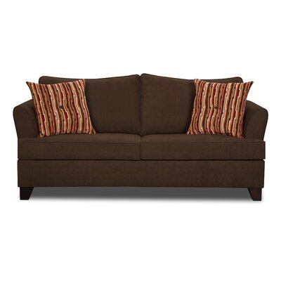 Antin Full Sleeper Sofa by Simmons Upholstery Upholstery: Chocolate