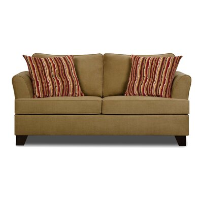 Antin Full Sleeper Sofa by Simmons Upholstery Upholstery: Treasure