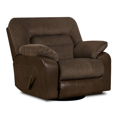 Simmons Upholstery Triggs Swivel Glider Recliner