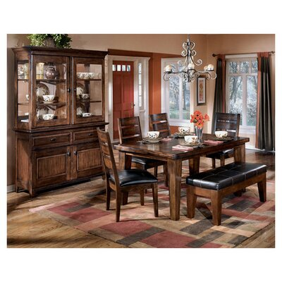 Spencerville 6 Piece Wood Dining Set