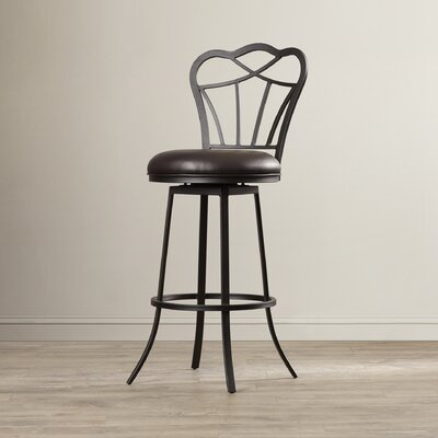 Brass Cannon 30 Swivel Bar Stool