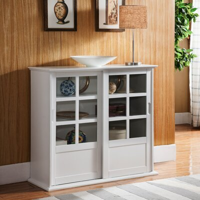Caledonian Curio Cabinet Color: White