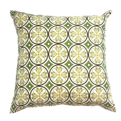 Mad Malts Outdoor Throw Pillow Fabric: Spring