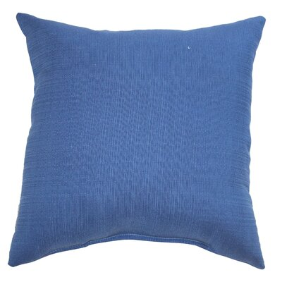 Mad Malts Outdoor Throw Pillow Fabric: Pacific Blue