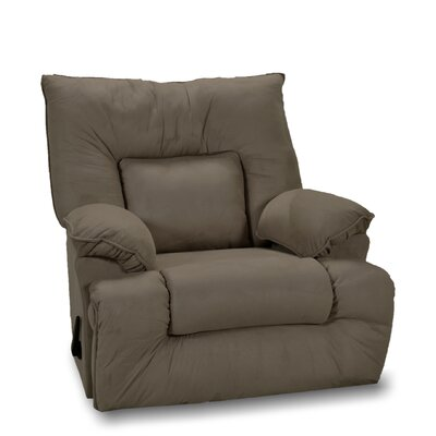 Mackinaw Manual Rocker Recliner Color: Fern