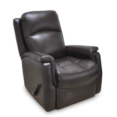 Mackey Manual Rocker Recliner Color: Chocolate