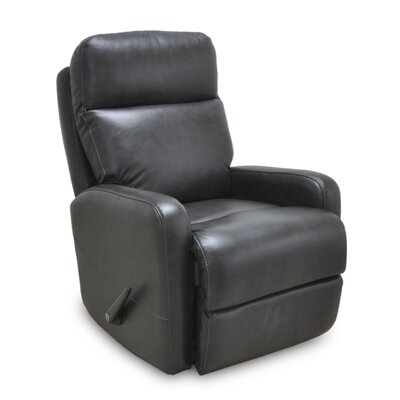 Sayli Leather Manual Rocker Recliner Color: Pewter