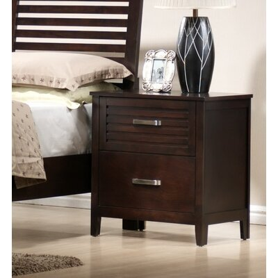 Mill Creek 2 Drawer Nightstand