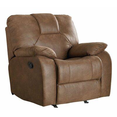 Gleeson Rocker Recliner Upholstery Color: Camel