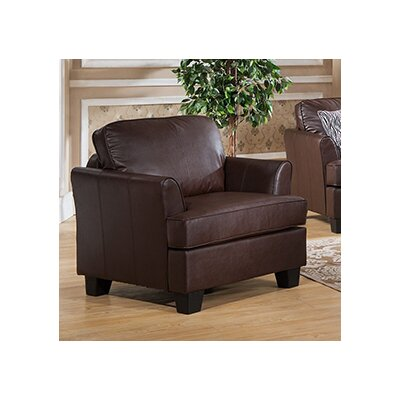 Galbraith Club Chair Upholstery: Brown