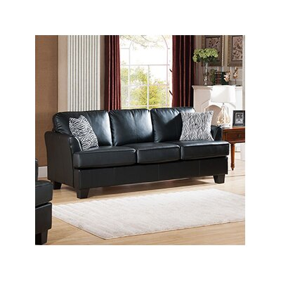 Galbraith Queen Sleeper Sofa Upholstery: Black