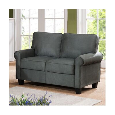 Ginther Loveseat Upholstery: Gray