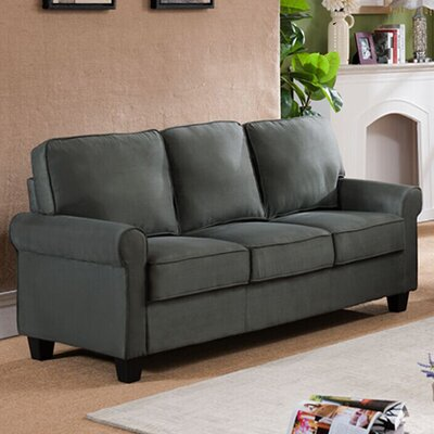 Ginther Sofa Upholstery: Gray