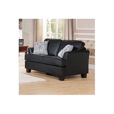 Galbraith Full Sleeper Sofa Upholstery: Black