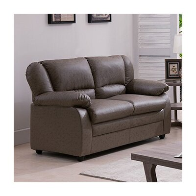 Givens Loveseat Upholstery: Gray