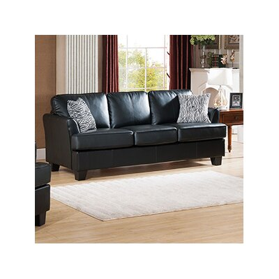 Galbraith Sofa Upholstery: Black