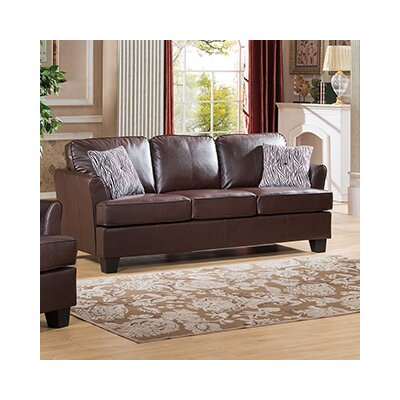 Galbraith Sofa Upholstery: Brown