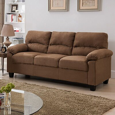 Girardeau Sofa Upholstery: Brown