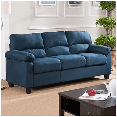 Girardeau Sofa Upholstery: Blue