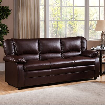 Givens Sofa Upholstery: Brown