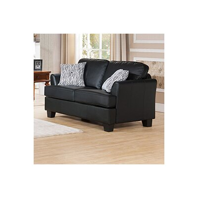 Galbraith Twin Sleeper Sofa Upholstery: Black