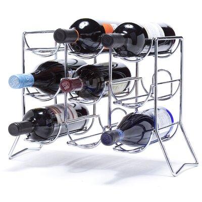 Rooftop 9 Bottle Tabletop Wine Rack