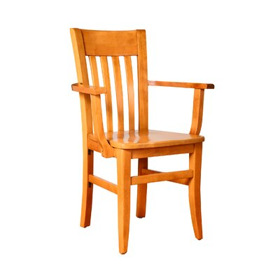 Besse Solid Wood Dining Chair Finish: Cherry