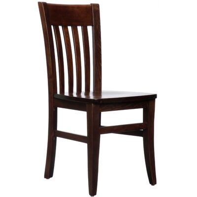 Besse Solid Wood Dining Chair (Set of 2)