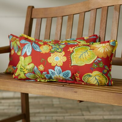 Broad Brook Indoor/Outdoor Lumbar Pillow Size: 12 x 24
