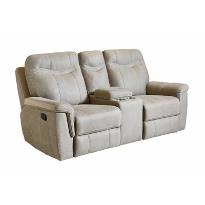 Garretson Manual Console Reclining Sofa