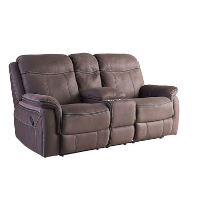 Garris Manual Console Reclining Sofa