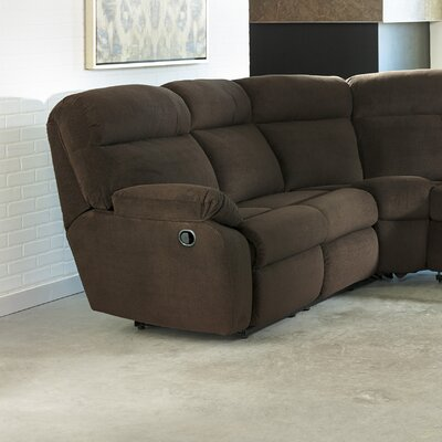 Red Barrel Studio RDBS5907 31894080 Alchemist Left Hand Facing Reclining Loveseat Upholstery