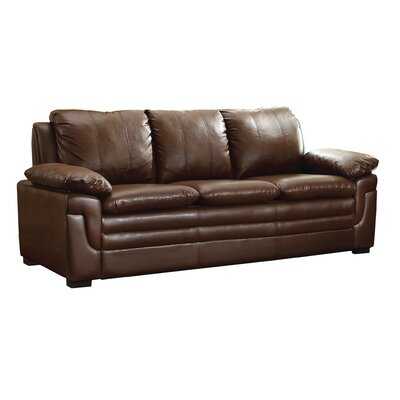Chan Sofa Upholstery: Brown