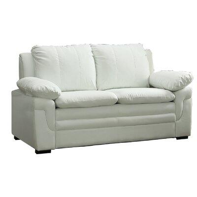 Chan Loveseat Upholstery: White