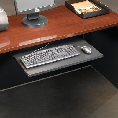 Castalia Keyboard Shelf in Soft Black