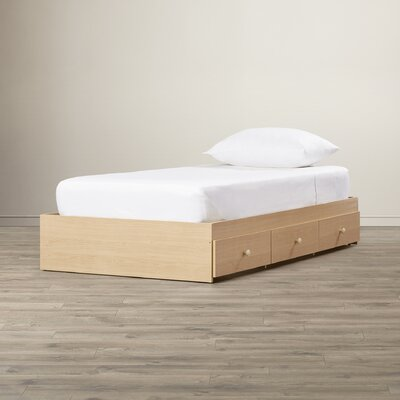 Brook Hollow Twin Platform Bed with Storage