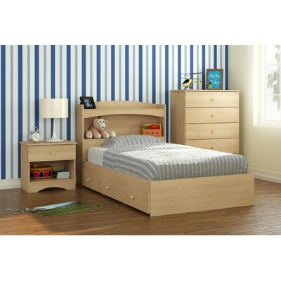 Brook Hollow Twin Platform Customizable Bedroom Set