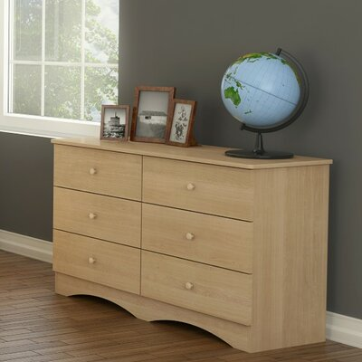 Brook Hollow Double 6 Drawer Dresser