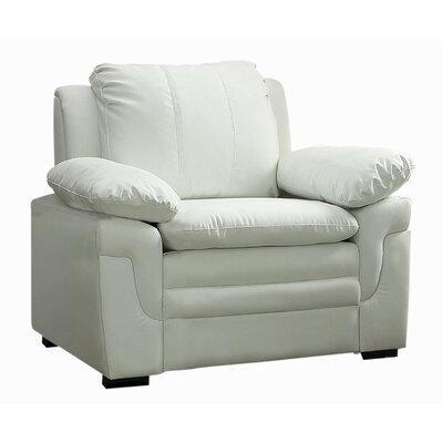 Chan Club Chair Upholstery: White