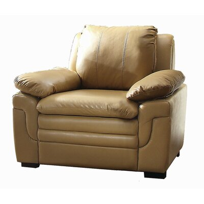 Chan Club Chair Upholstery Color: Tan