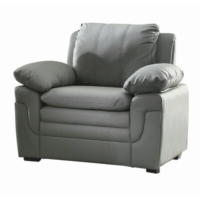 Chan Club Chair Upholstery: Grey