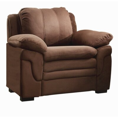 Chan Club Chair Upholstery Color: Chocolate